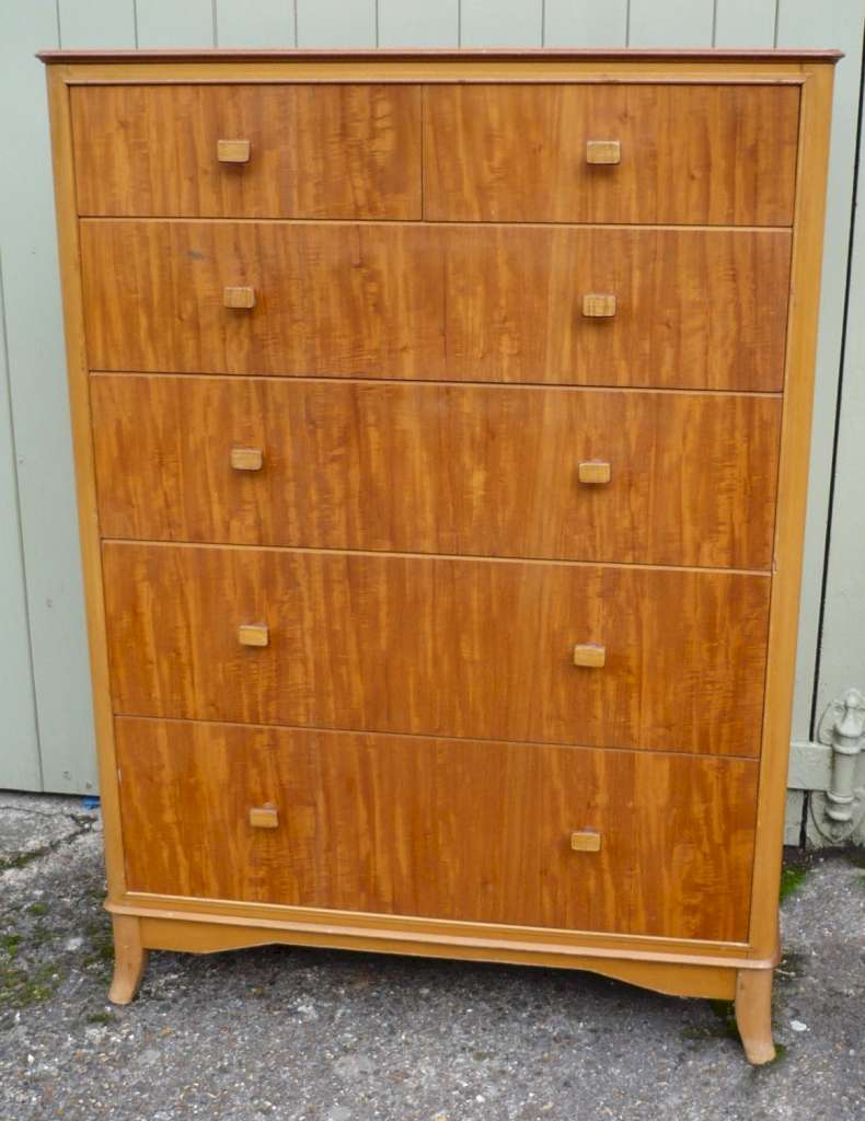 Mid century chest by Heals in Peroba wood