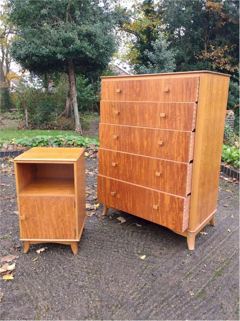 Heal & Son Mid Century chest in Peroba wood