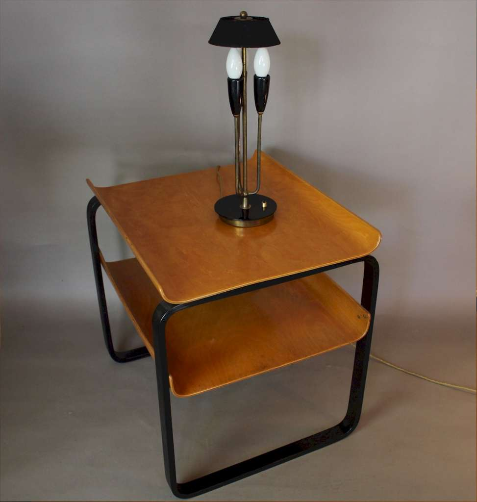 Stylish 1950's table lamp