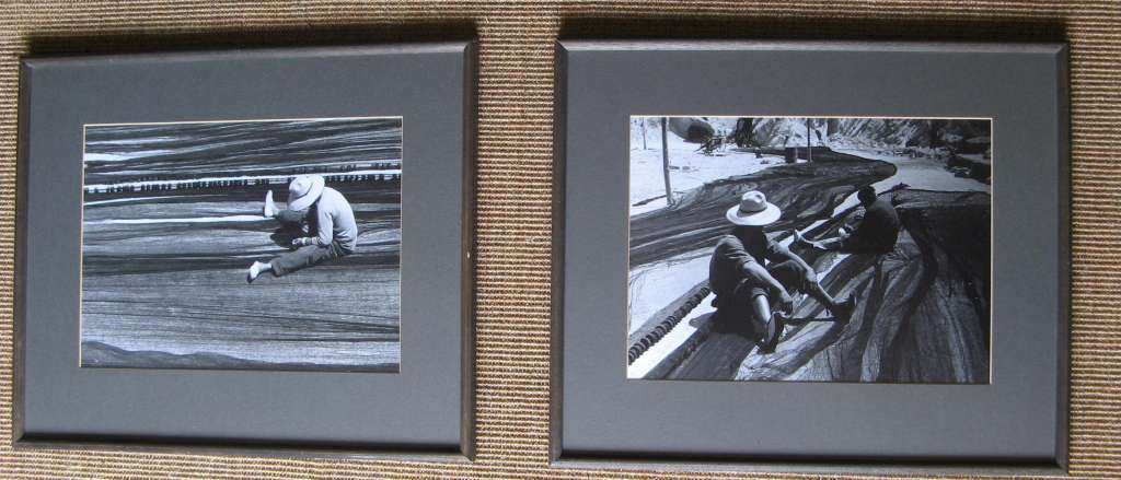 A Pair of framed photographs from the negatives by Crispin Eurich (1935-1976