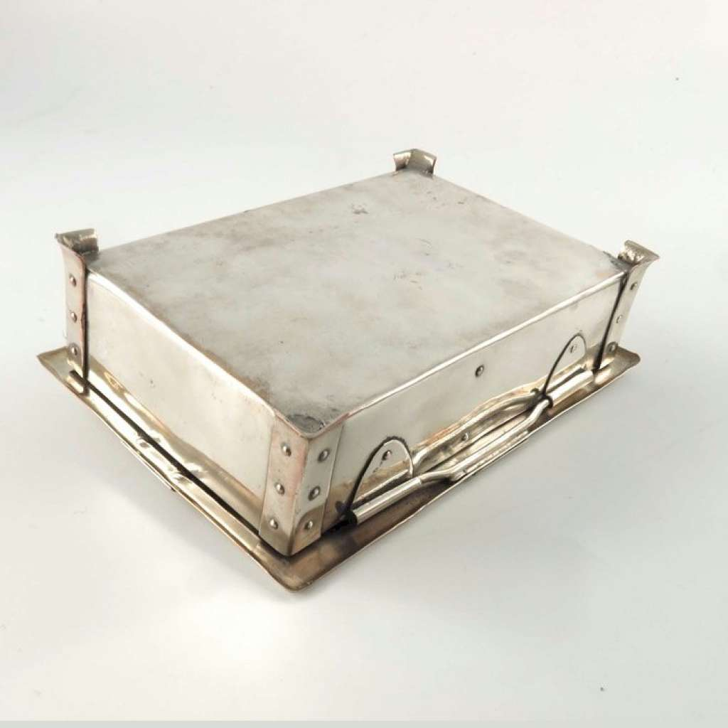 Arts and Crafts casket by A E Jones