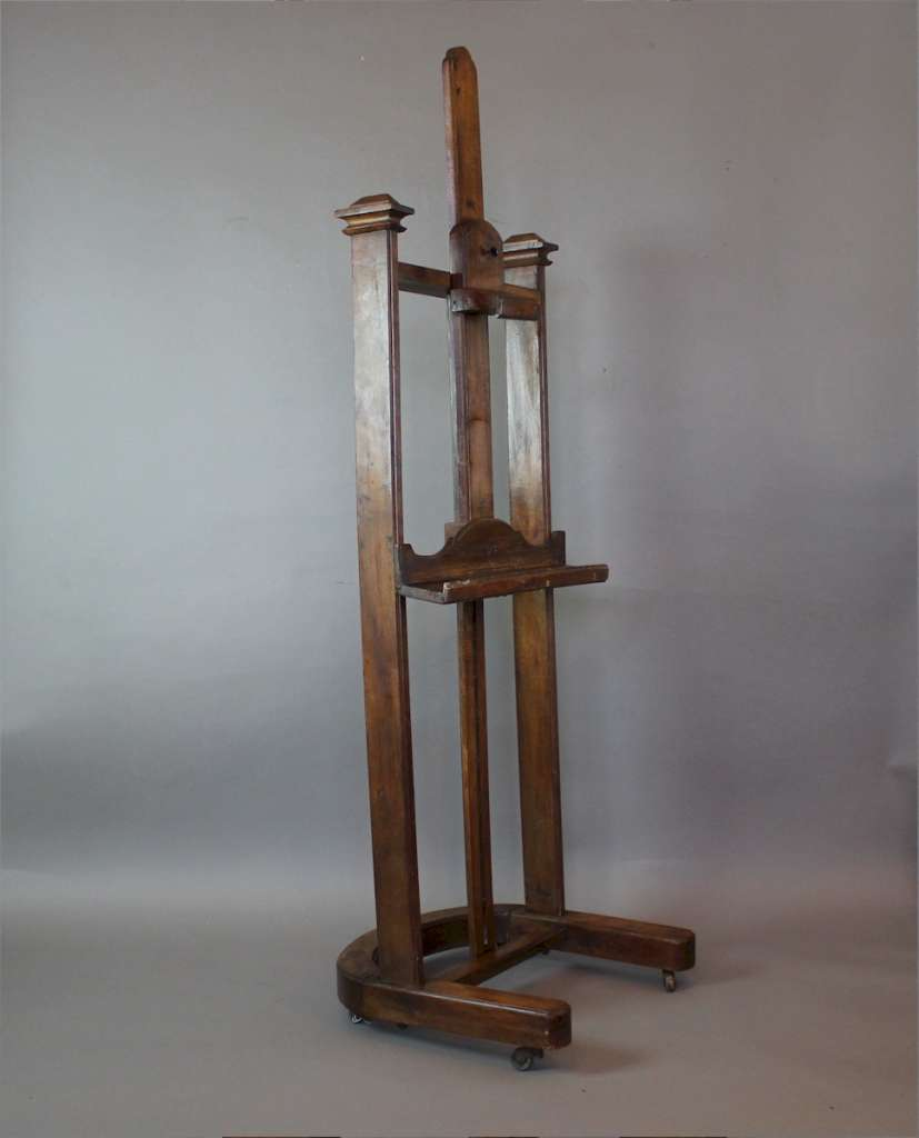 19th century artists easel by P.Berville