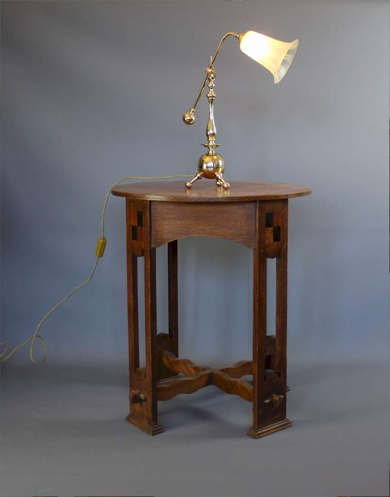 Wonderful arts and crafts table lamp