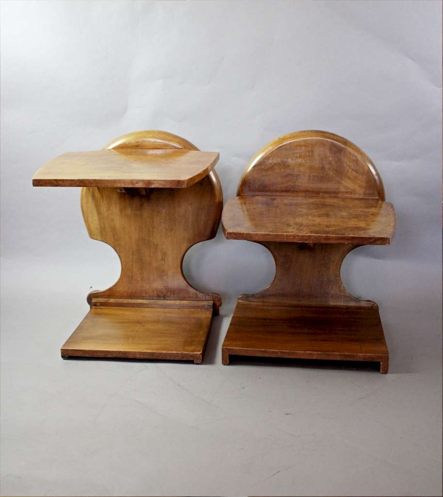 Decorative Art Deco nest of tables by Hille