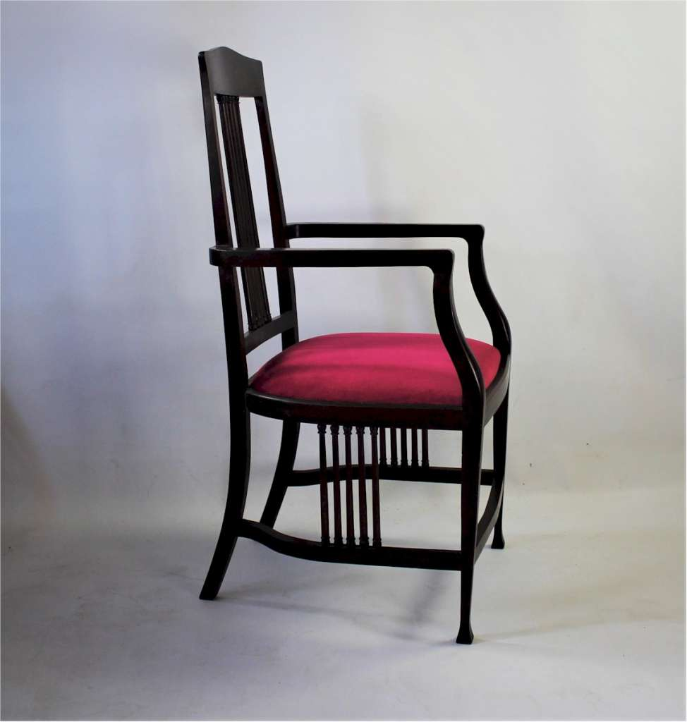 Liberty & Co Langley Elbow chair c1900