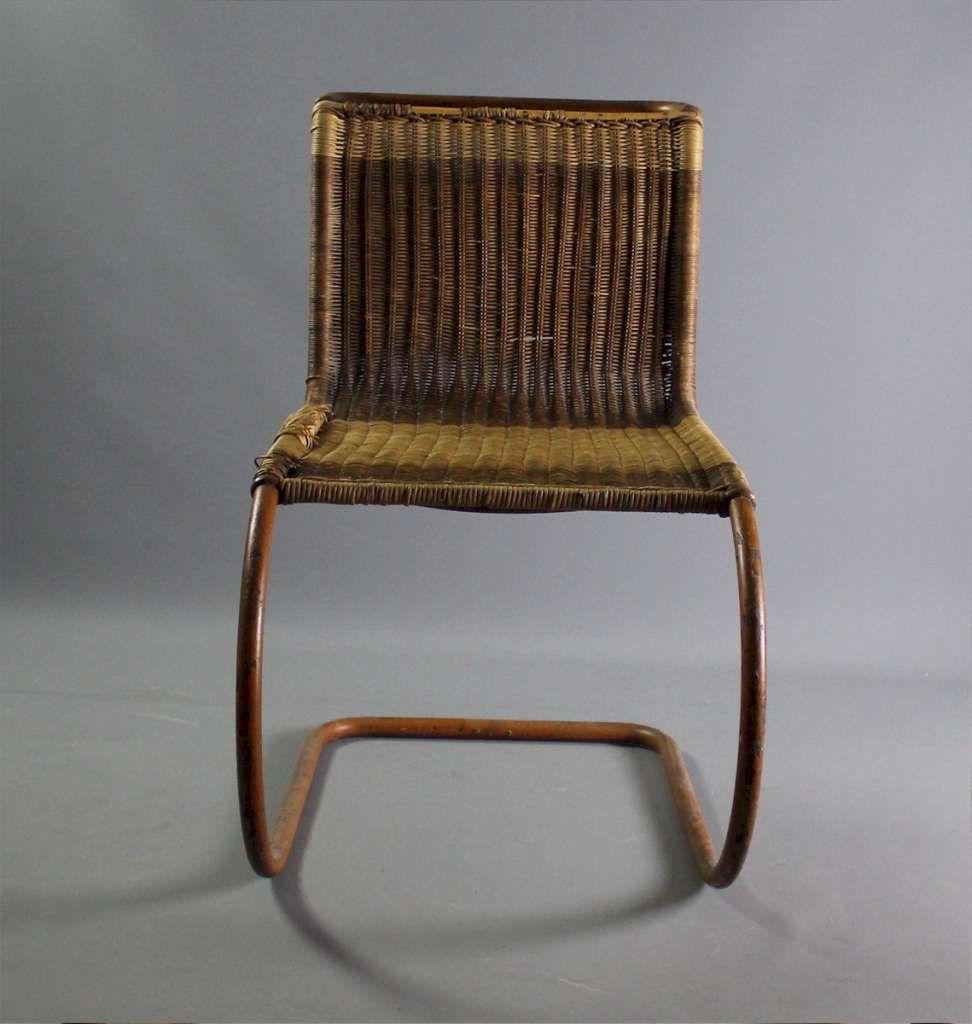 Early rare Mies Van Der Rohe MR10 chair
