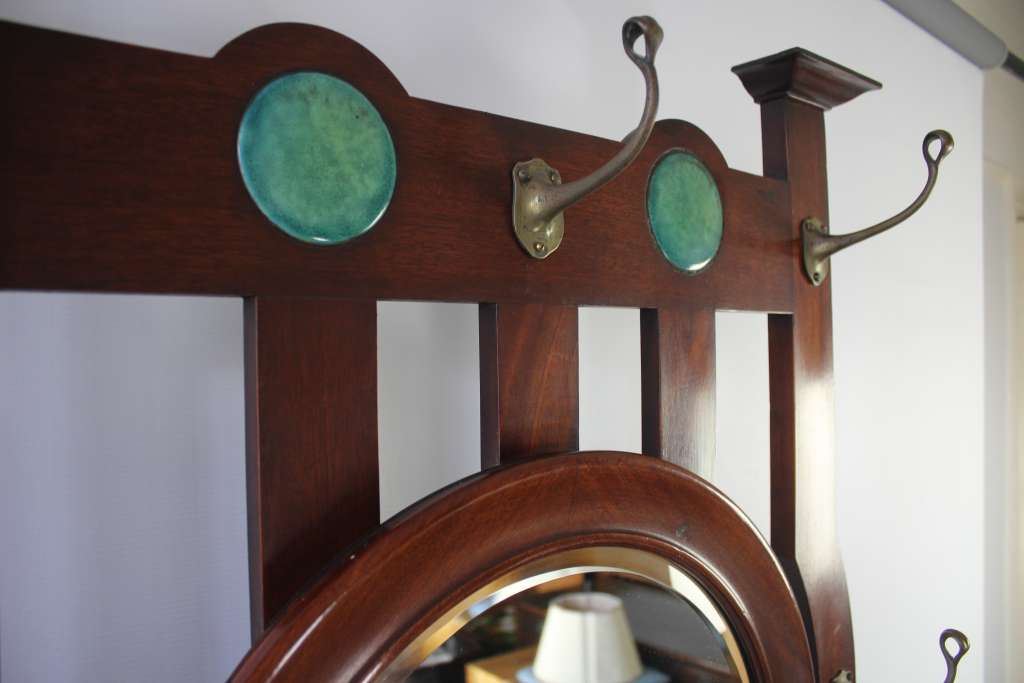 Shapland and Petter arts and crafts Ruskin Hallstand