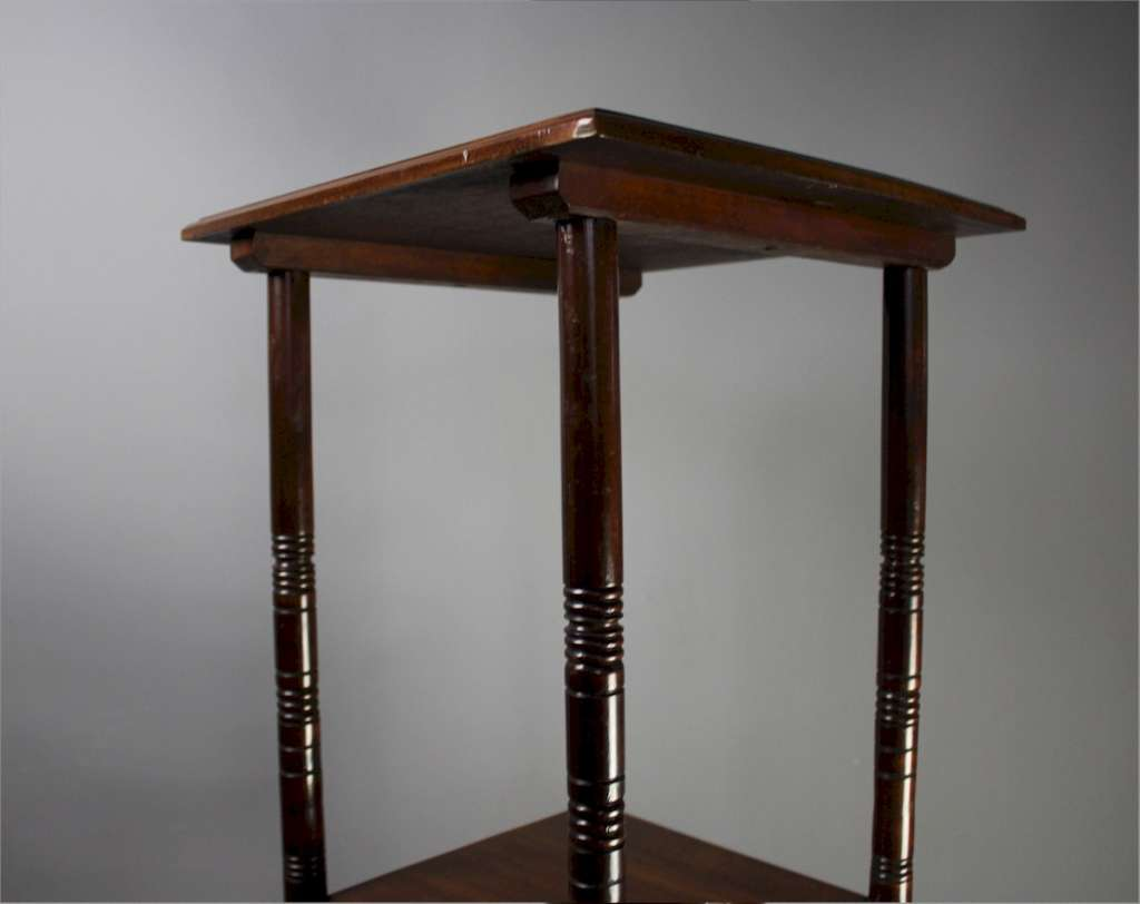 Aesthetic Movement tall table after E.W Godwin
