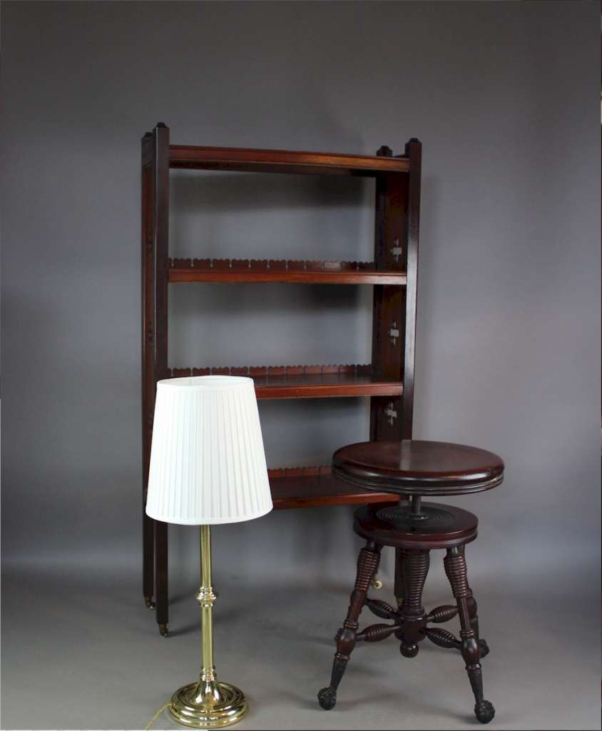 Victorian Mahogany Revolving Stool Shop Fittings Indust Art Furniture