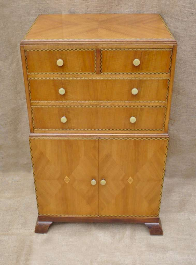 1930's tallboy probably Bath Cabinet Makers