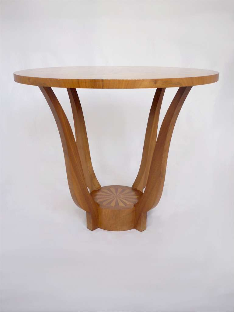 Occasional table in the art deco style