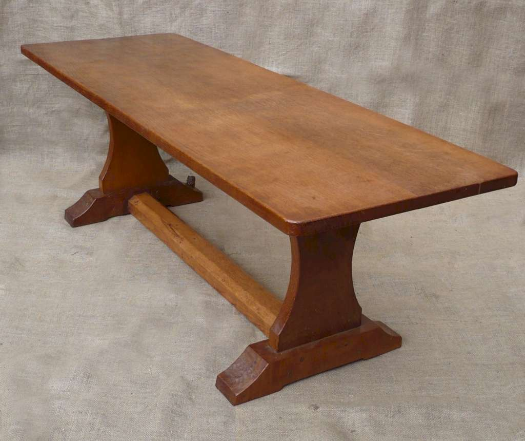 Substantial coffee table by Wilf Hutchinson