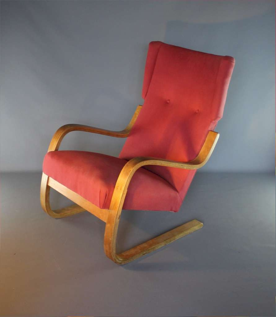 Alvar Aalto designed lounge chair, model 36/401 by Finmar