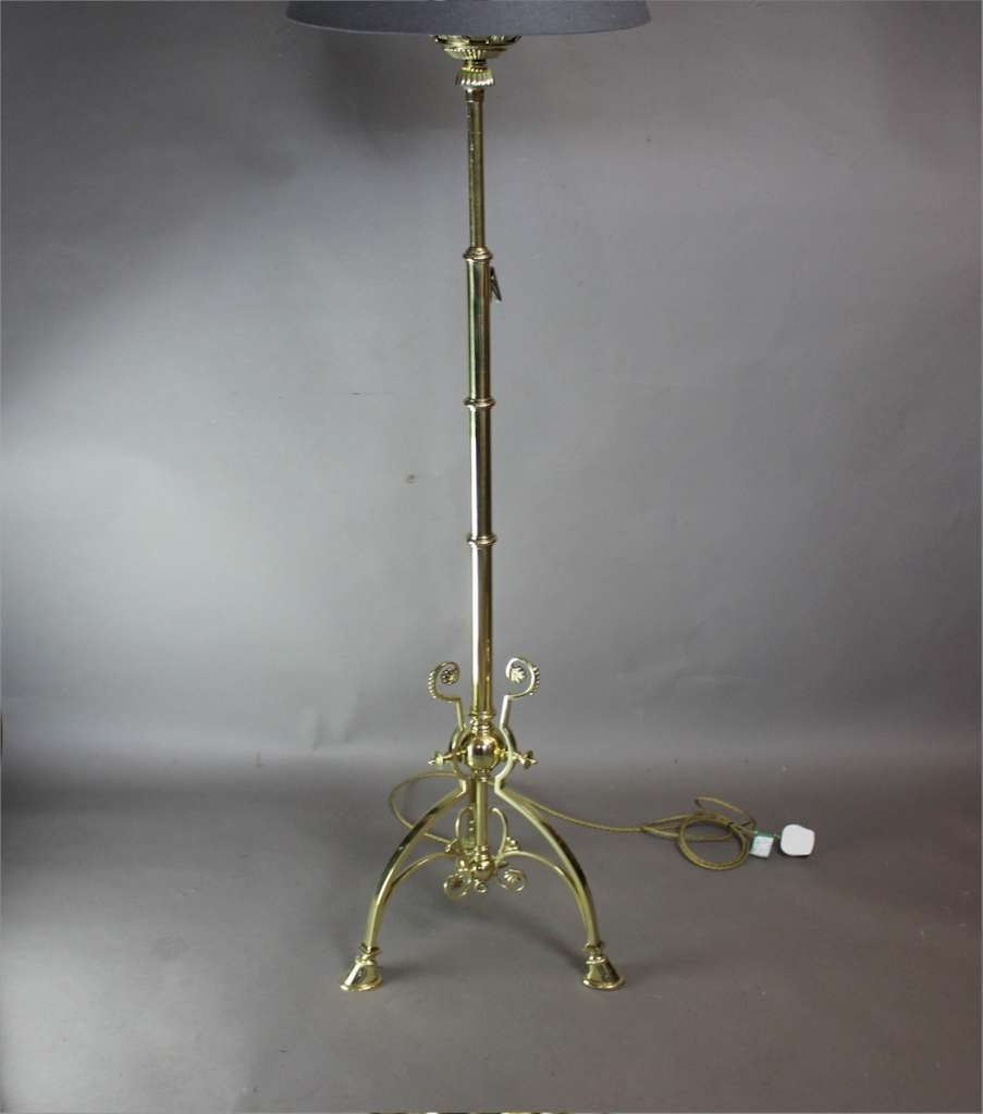 Aesthetic Movement floor lamp