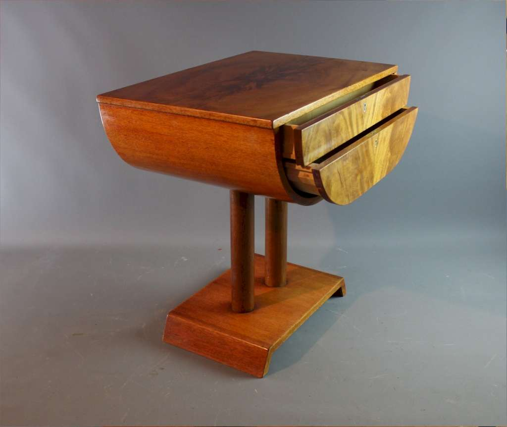 Stylish art deco sewing table