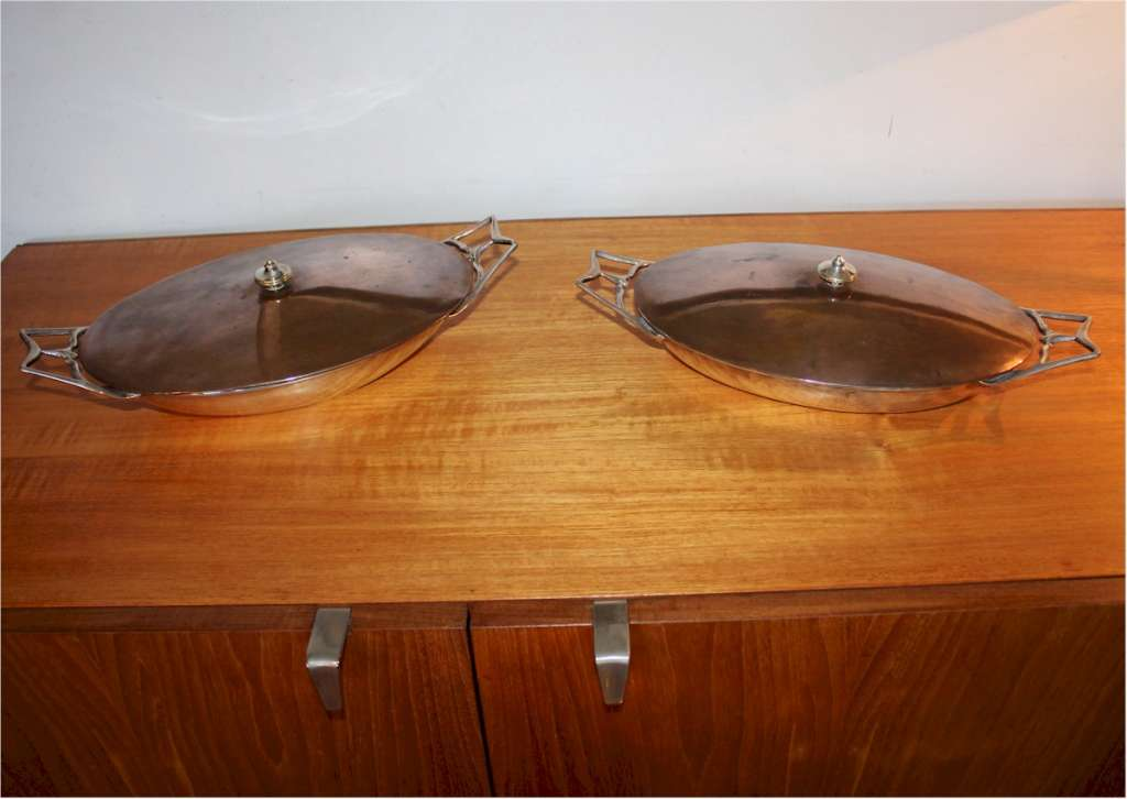 Pair of Benson tureens