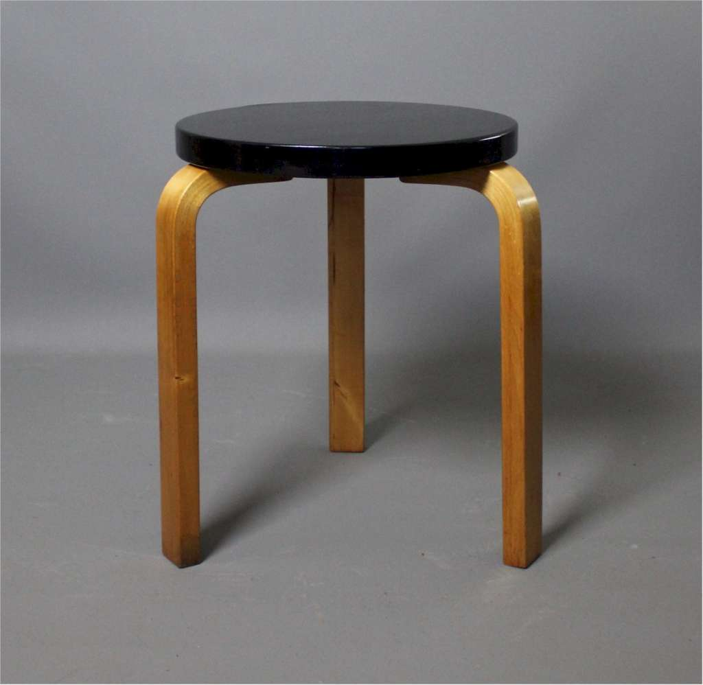 Alvar Aalto for Finmar Model 60 stacking stool