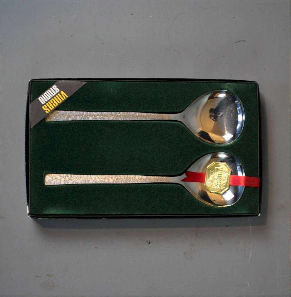 Viners, boxed cutlery designer Gerald Benney R.A