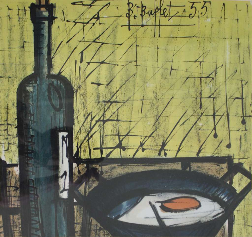 Bernard Buffet the Breakfast 1955