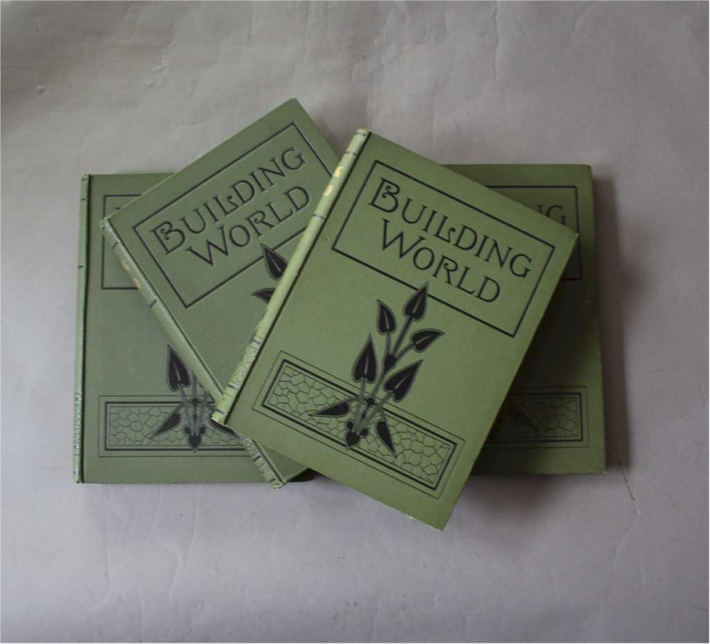 Building World set of four books arts and crafts
