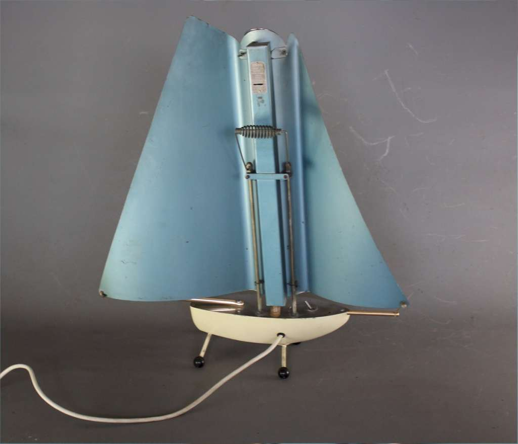 Art Deco novelty yacht fire 1950's