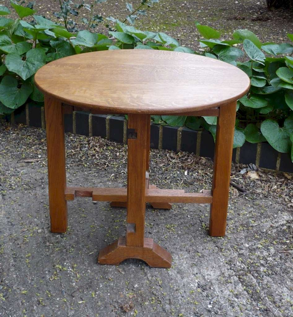 Heal & Son tilt top occasional table