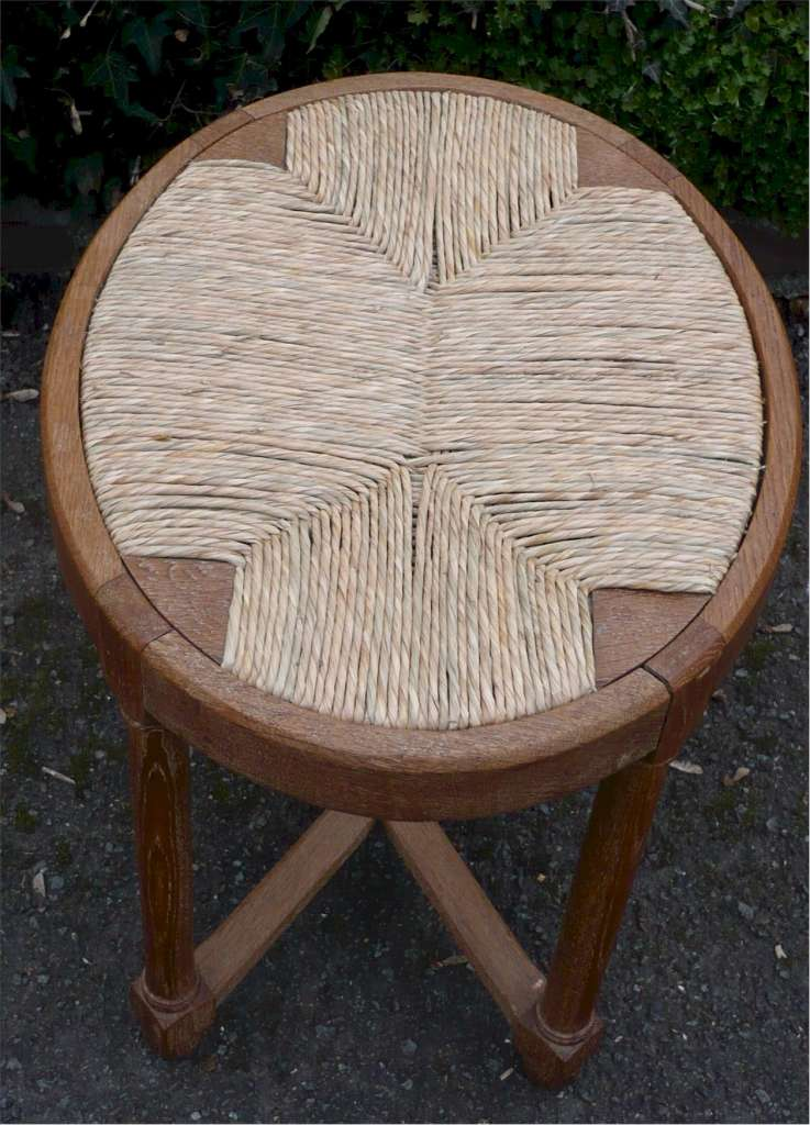 Heal & son rush seated stool