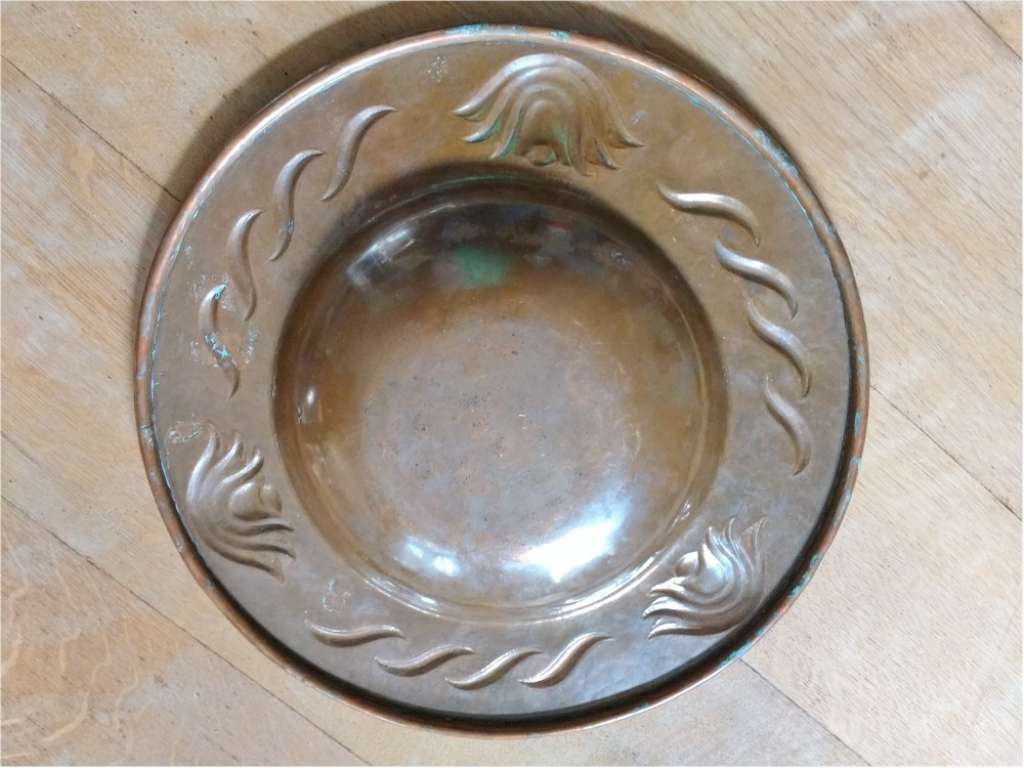 Newlyn copper bowl