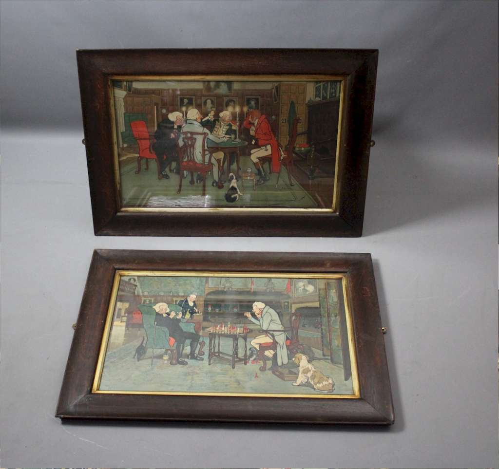 Original chromolithographs by Cecil Aldin Mated & Revoked