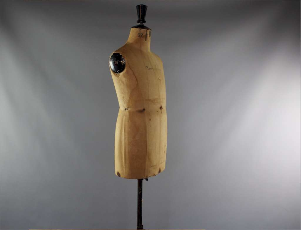 Vintage child's dressmakers dummy by Kennett Lindsell