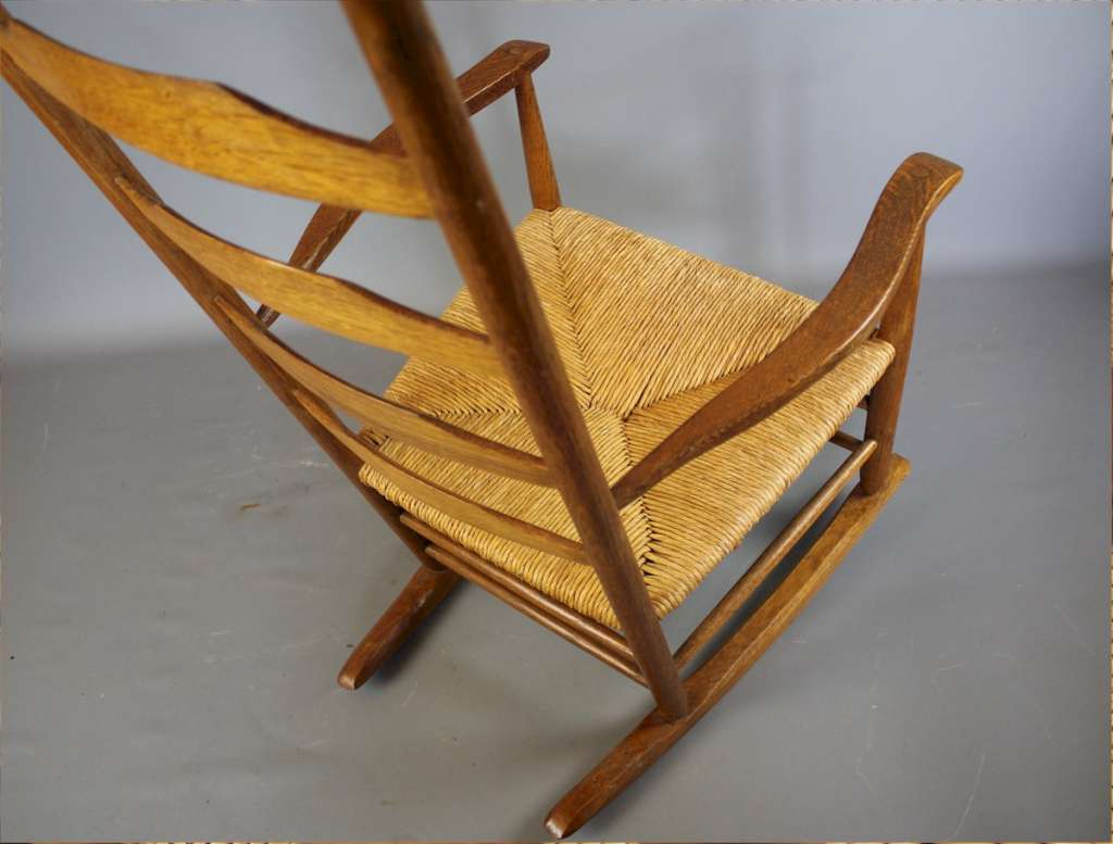 Arts and crafts Clisset rocking chair