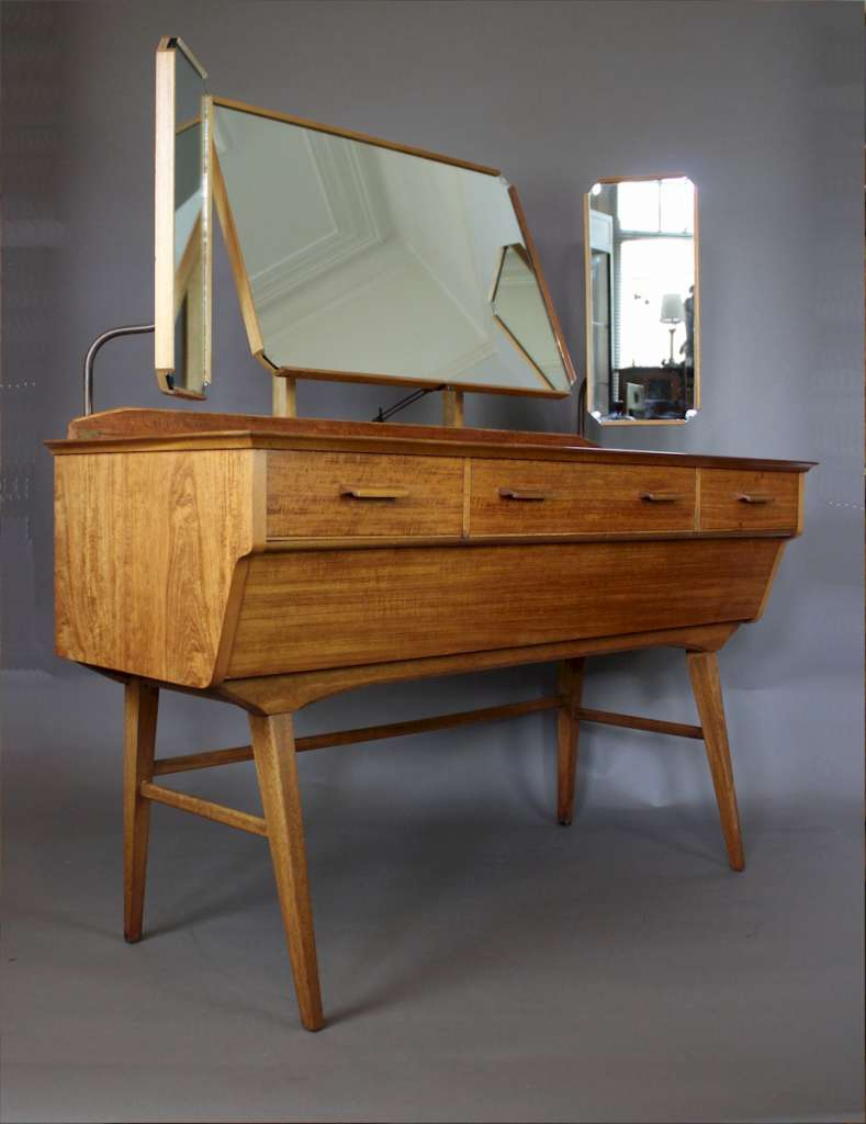 Vintage Mid-Century dressing table by Alfred Cox c1950