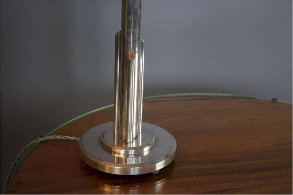 Art Deco stepped table lamp