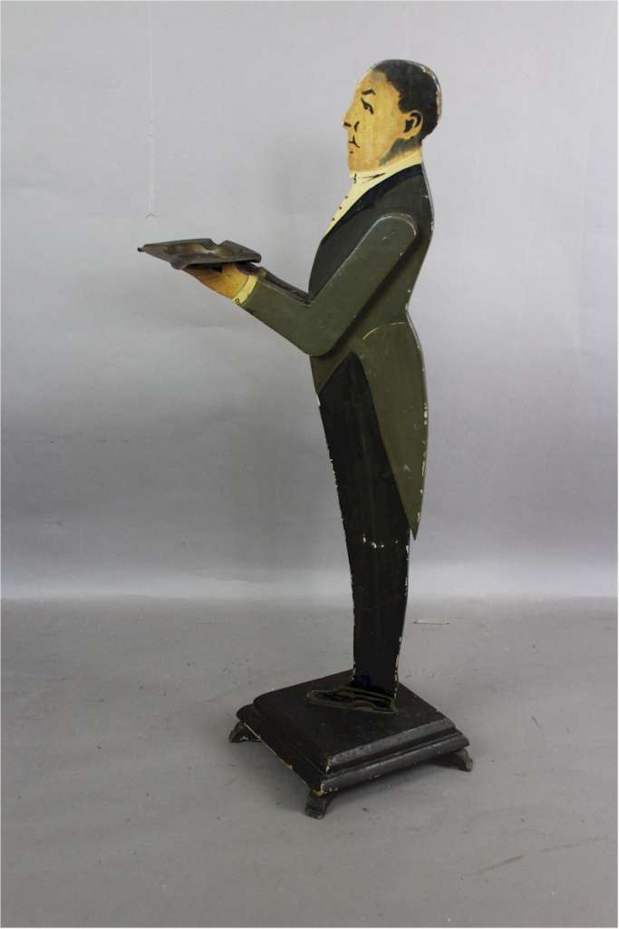 1930's Dumb waiter in the form of a butler