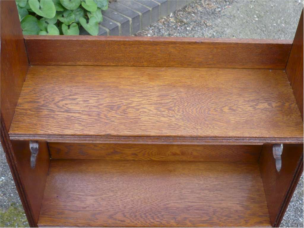 Sedley bookcase in golden oak by Liberty & Co