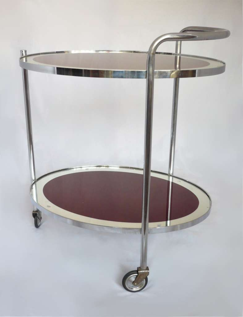 Art Deco Savoy cocktail trolley