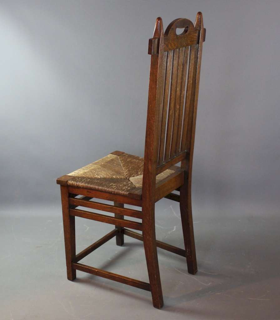 Arts and Crafts chair , Glasgow School, John Ednie