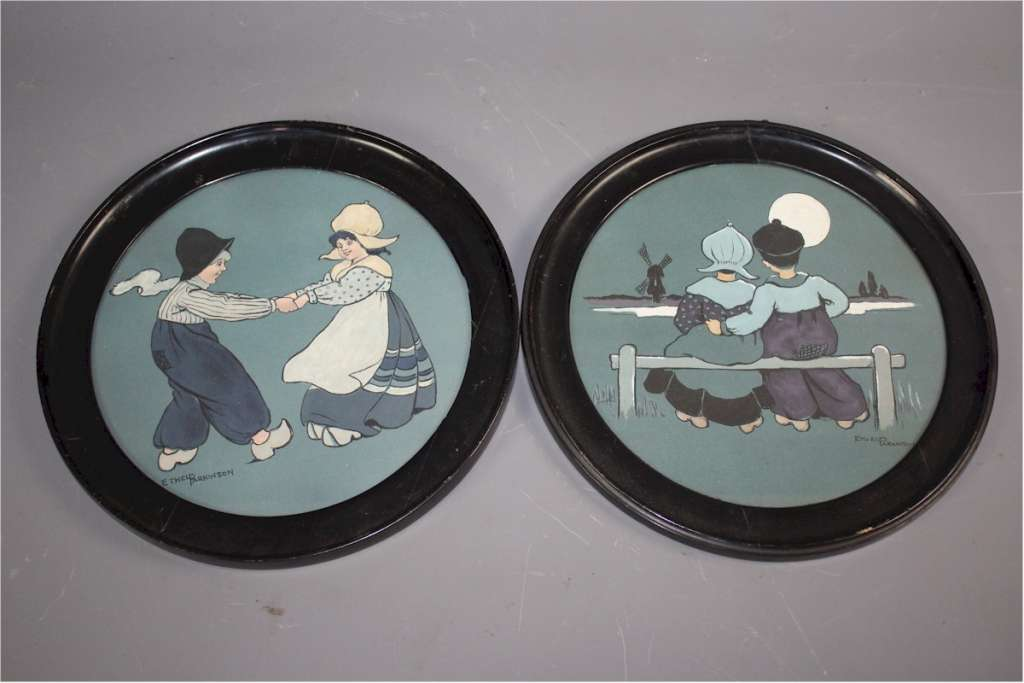 Ethel Parkinson pair of nursery prints c1910