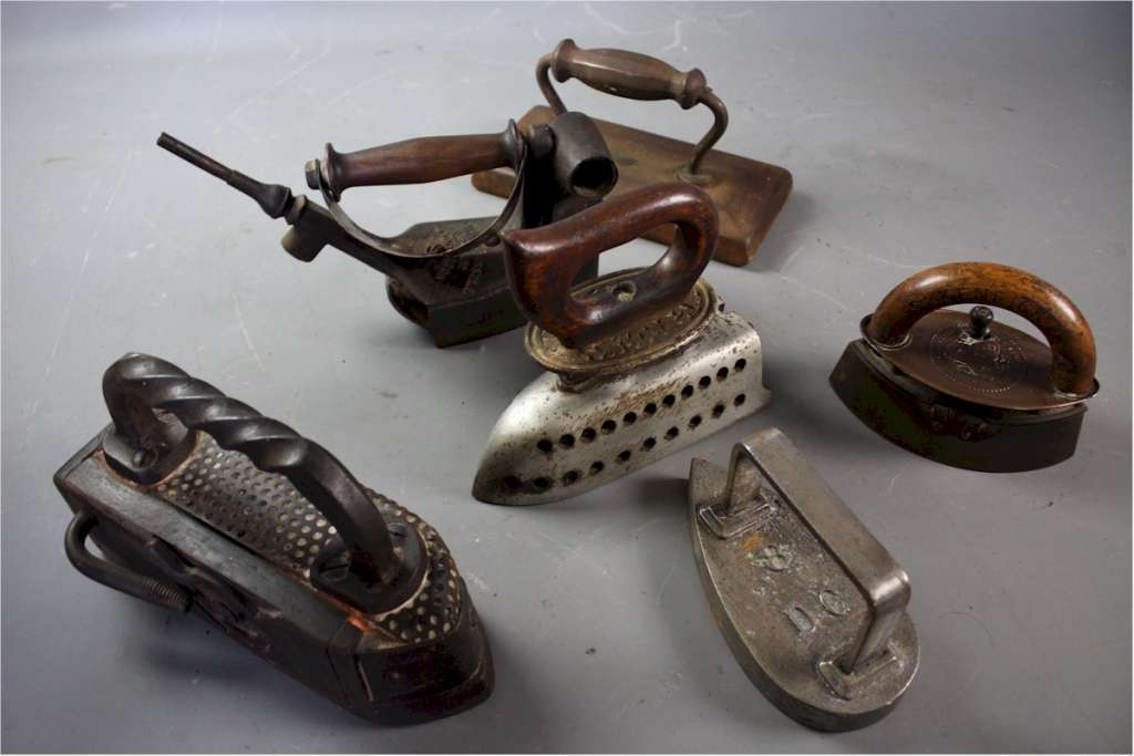 Collection of Victorian Flat irons