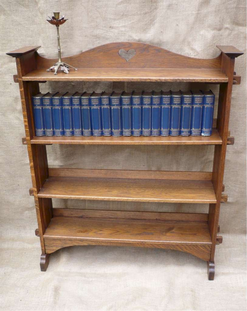 Scottish bookcase by Wylie & Lochhead