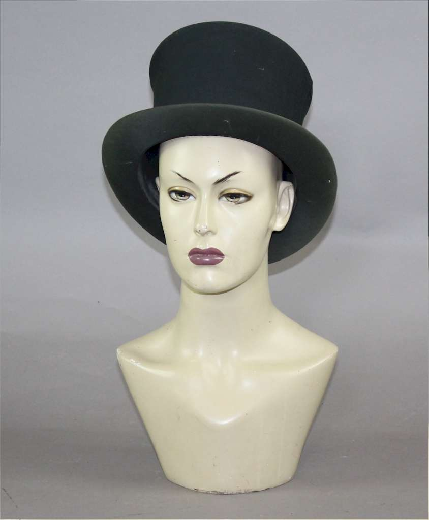 Original 1970's mannequin head with striking eyes