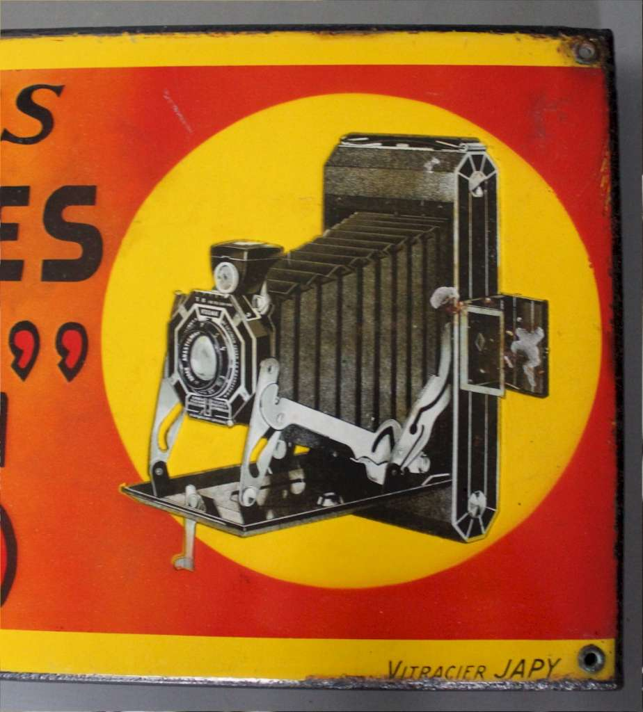 Kodak enamel advertising sign