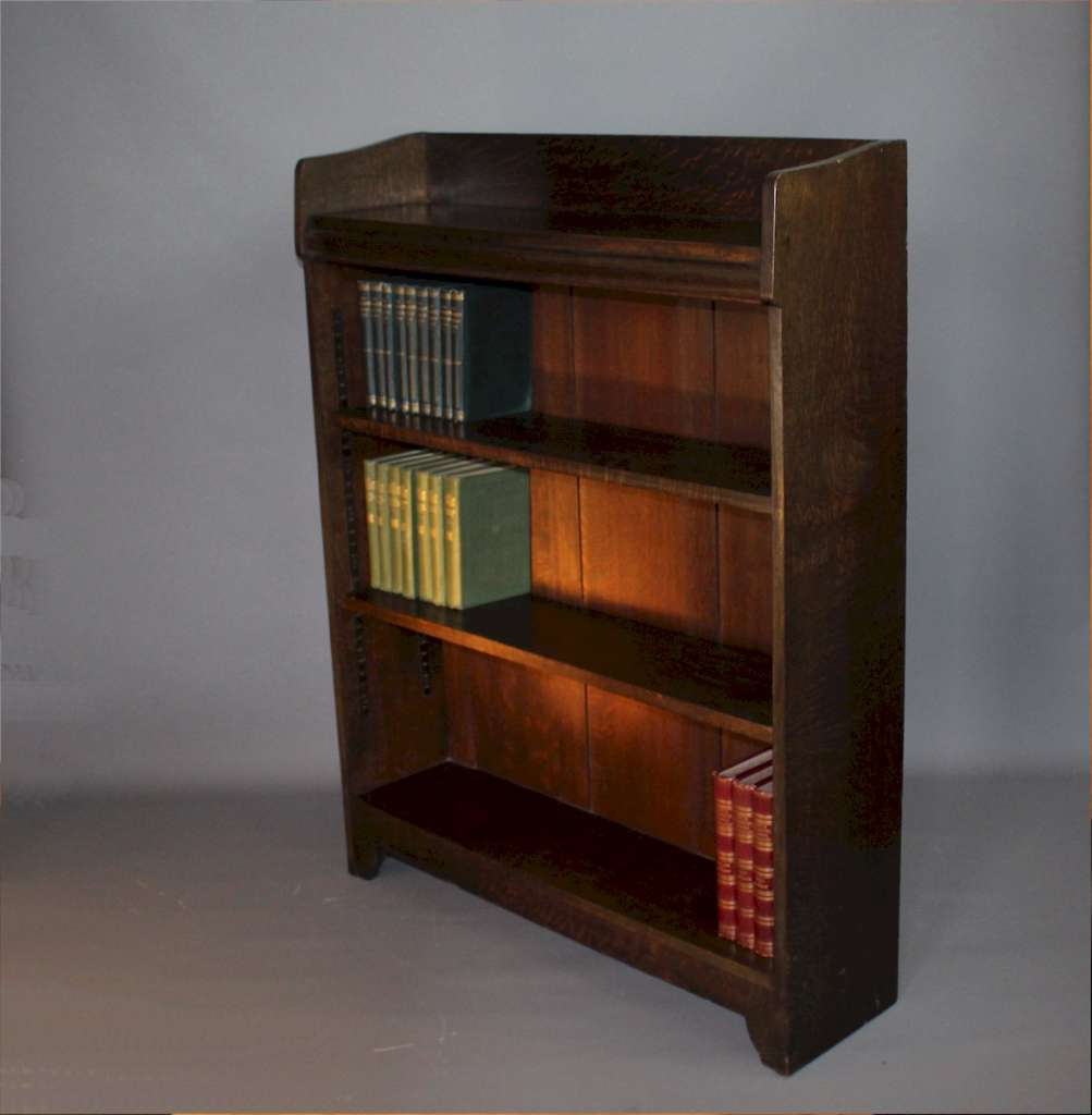 Oak Liberty & Co arts and crafts bookcase c1900