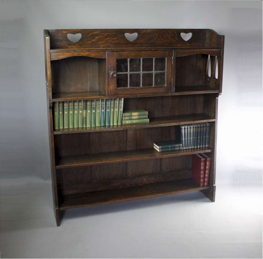 Liberty & Co Bookcase - Pierced Hearts & Trees