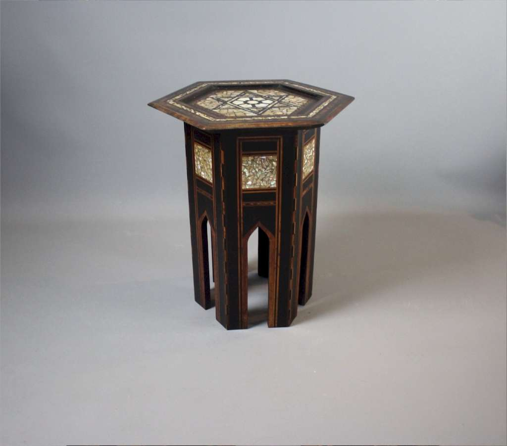 Moorish mother of pearl Liberty table