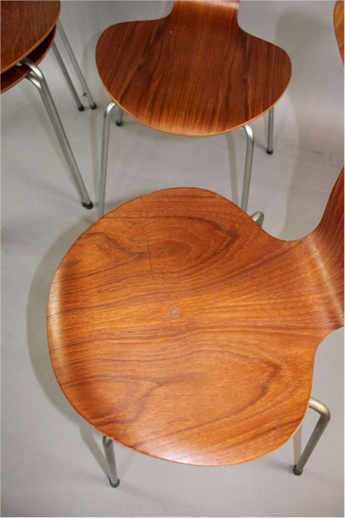 Set of six Mosquito chair c1960's by Arne Jacobsen for Fritz Hansen