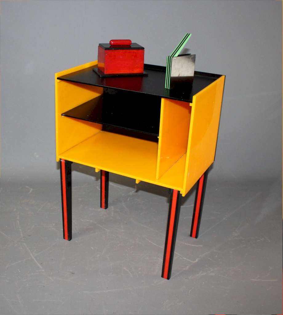 1970's Perspex side cabinet , Habitat style.