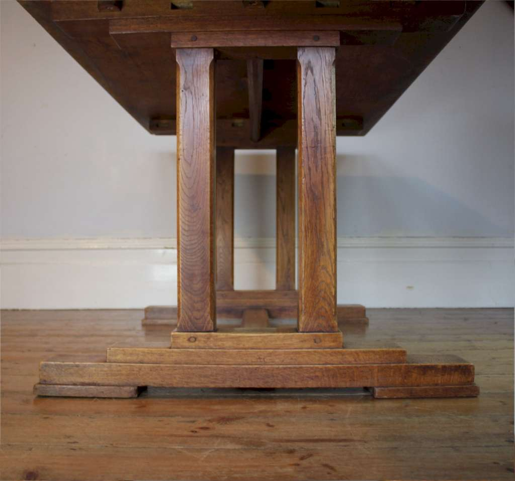 Cotswold School solid oak refectory table
