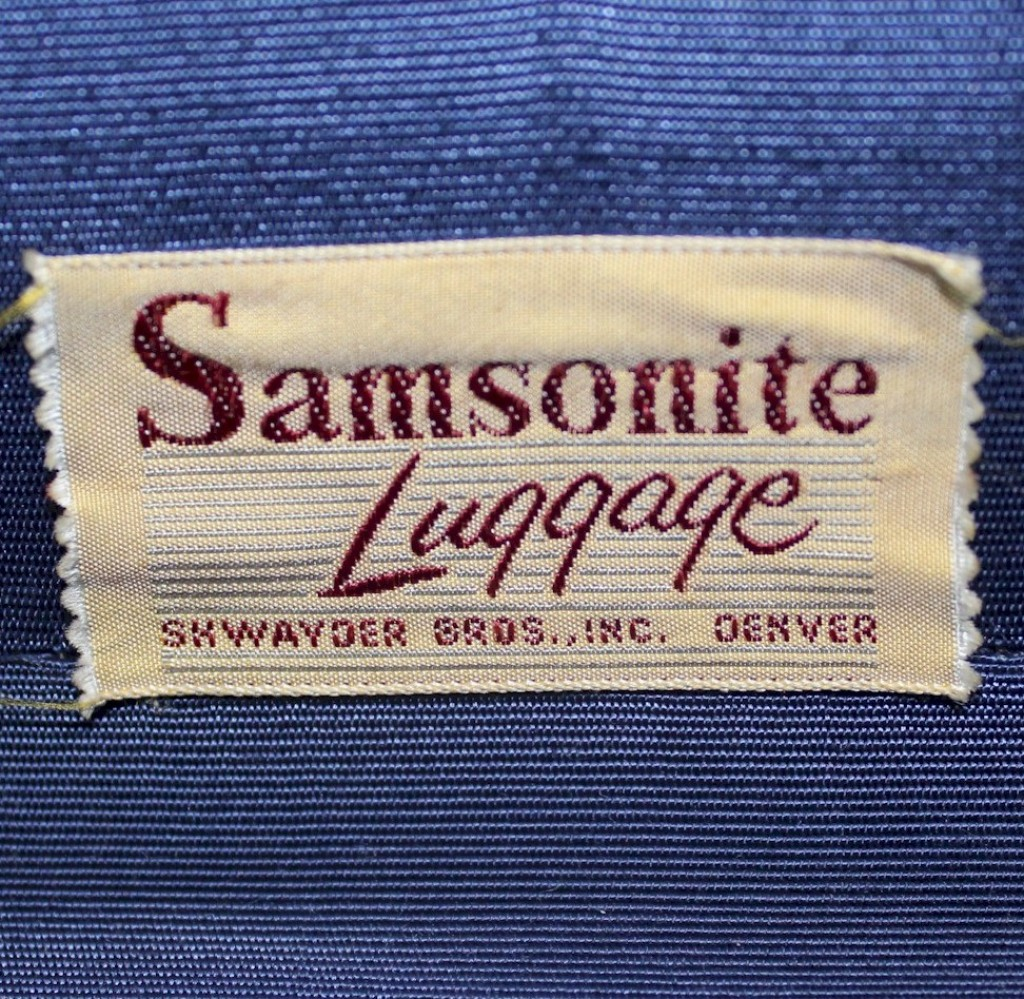 Set of vintage luggage by Samsonite USA
