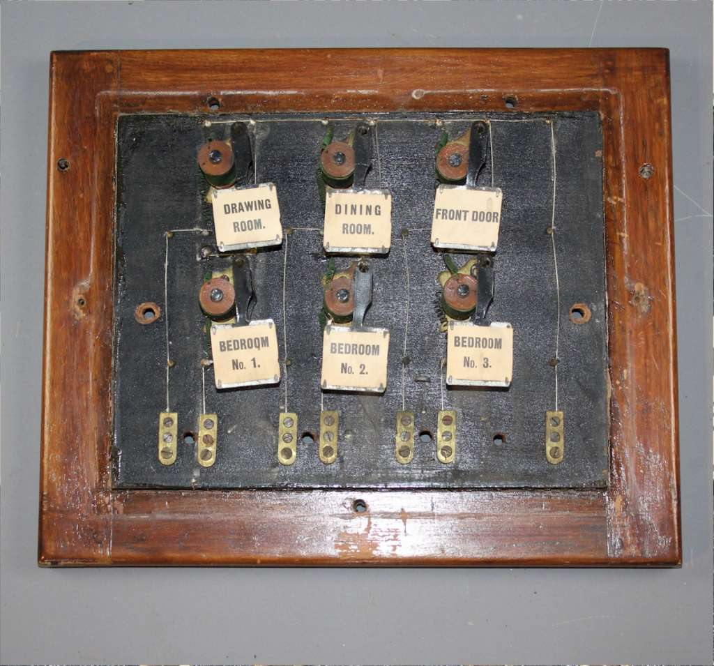 Antique , Butlers , Servants call box